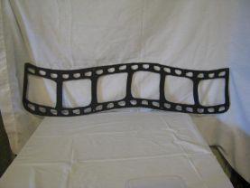 35 mm Film Small Metal Wall Yard Art Silhouette