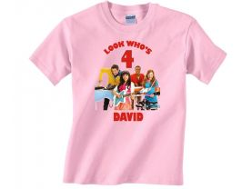 Personalized The Fresh Beat Band Custom Birthday Pink or Blue Shirt in sizes Toddler 2T to Youth XL