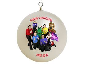 Wiggles Personalized Custom Christmas Ornament