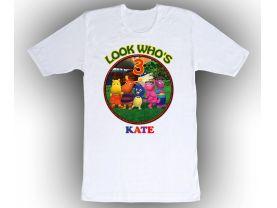 Backyardigans Personalized Custom Birthday White Shirt in sizes Toddler 2T to Adult XL