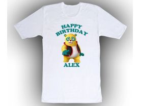 Special Agent Oso Personalized Custom Birthday White Shirt in sizes Toddler 2T to Adult XL