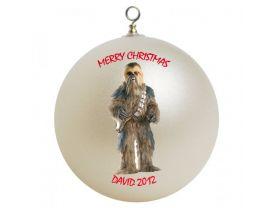 Star Wars Chewbacca Personalized Custom Christmas Ornament