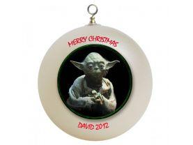 Star Wars Yoda Personalized Custom Christmas Ornament