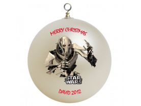 Star Wars General Grivious Personalized Custom Christmas Ornament