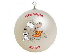 Toopy & Binoo Personalized Custom Christmas Ornament