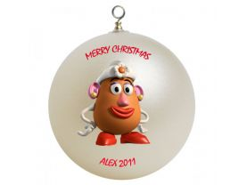 Toy Story Mrs. Potato Head Personalized Custom Christmas Ornament