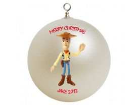 Toy Story Woody Personalized Custom Christmas Ornament