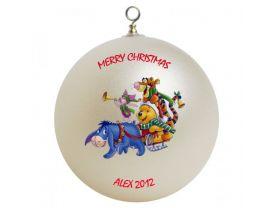 Winnie the Pooh Personalized Custom Christmas Ornament #1