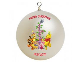 Winnie the Pooh Personalized Custom Christmas Ornament #3