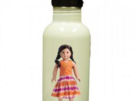 American Girl Jess Personalized Custom Water Bottle