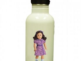 American Girl Ruthie Personalized Custom Water Bottle