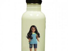 American Girl Sonali Personalized Custom Water Bottle