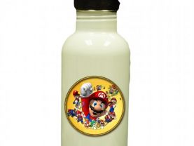 Super Mario Personalized Custom Water Bottle