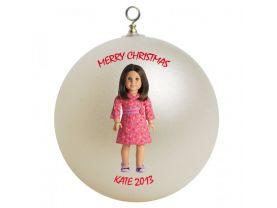 American Girl Chrissa Personalized Custom Christmas Ornament