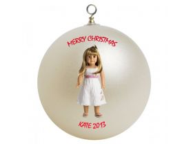 American Girl Gwen Personalized Custom Christmas Ornament