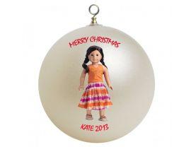 American Girl Jess Personalized Custom Christmas Ornament