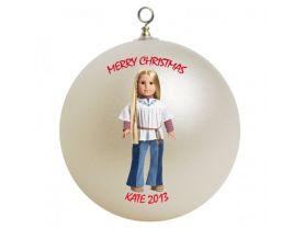American Girl Julie Personalized Custom Christmas Ornament