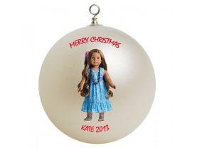American Girl Kanani Personalized Custom Christmas Ornament