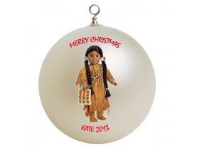 American Girl Kaya Personalized Custom Christmas Ornament