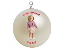 American Girl Kit Personalized Custom Christmas Ornament