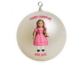American Girl Marie Grace Personalized Custom Christmas Ornament