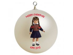 American Girl Molly Personalized Custom Christmas Ornament