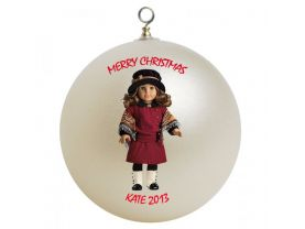 American Girl Rebecca Rubin Personalized Custom Christmas Ornament