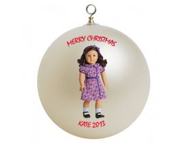 American Girl Ruthie Personalized Custom Christmas Ornament