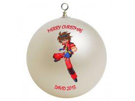 Bakugan Personalized Custom Christmas Ornament #3