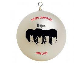 Beatles Personalized Custom Christmas Ornament #3