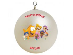 Bubble Guppies Personalized Custom Christmas Ornament