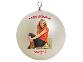 Carrie Underwood Personalized Custom Christmas Ornament #3