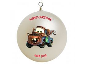 Cars Tow Mater Personalized Custom Christmas Ornament