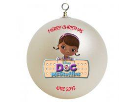 Doc McStuffin Personalized Custom Christmas Ornament