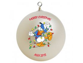 Donald Duck #2 Personalized Custom Christmas Ornament