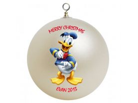 Donald Duck Personalized Custom Christmas Ornament