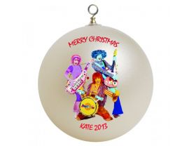 Doodlebops Personalized Custom Christmas Ornament
