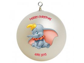 Dumbo Personalized Custom Christmas Ornament