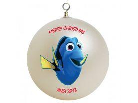 Finding Nemo Dory Personalized Custom Christmas Ornament