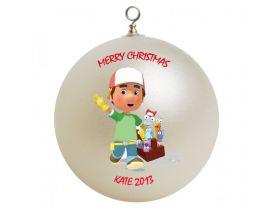 Handy Manny Personalized Custom Christmas Ornament