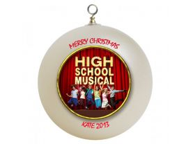 High School Musical Personalized Custom Christmas Ornament