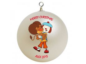"Jo Jo'""s Circus Personalized Custom Christmas Ornament"