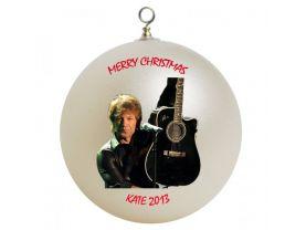 Jon Bon Jovi #2 Personalized Custom Christmas Ornament