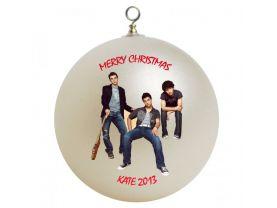 Jonas Brothers #3 Personalized Custom Christmas Ornament