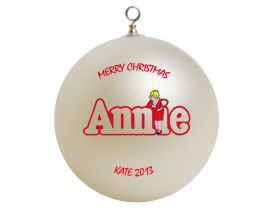 Little Orphan Annie Personalized Custom Christmas Ornament