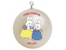 Max & Ruby Personalized Custom Christmas Ornament