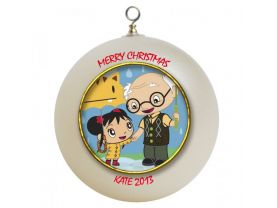 Ni Hao Kai Lan Personalized Custom Christmas Ornament