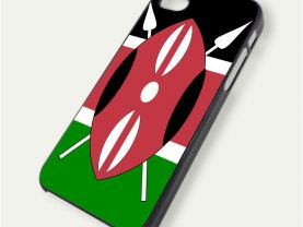 Kenya Flag iPhone 5 Case Cover