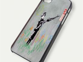 Banksy Street Art #3 iPhone 5, iPhone 5s Case Cover