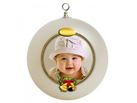 Babys First Christmas Personalized Custom Christmas Ornament